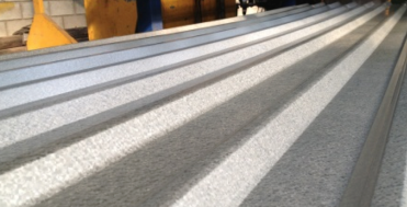 Precoated Steel with Al-Zn Alloys