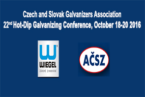 22nd Hot Dip Galvanizing Conference, October 18-20, 2016