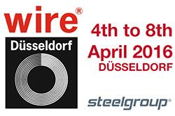 Die BRUGAL Technologie war auf der Wire & Tube Düsseldorf 2016